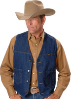 Wrangler® Cowboy Cut® Denim VEST