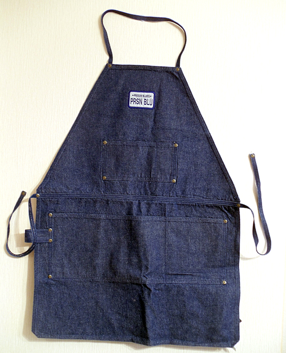 Prison Blues® WORK APRON Рабочий Фартук из Денима