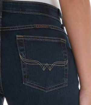 Q-BABY™ Ultimate Riding Vented Boot Cut Wrangler® Cowgirl Cut®