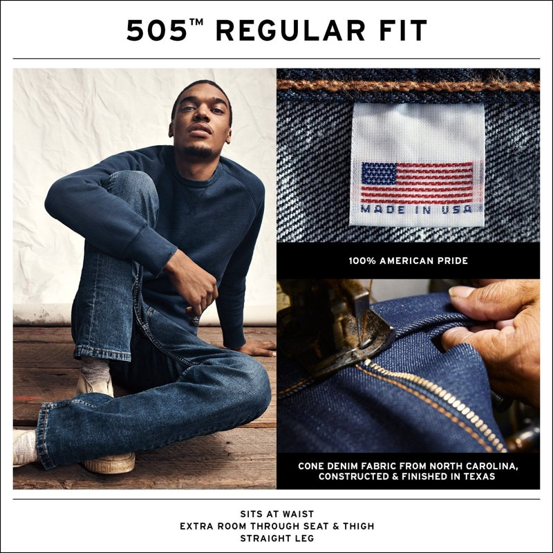505™ Levi's® RedTab™ Made In the USA