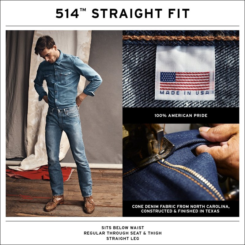 514™ Levi's® RedTab™ Made In the USA
