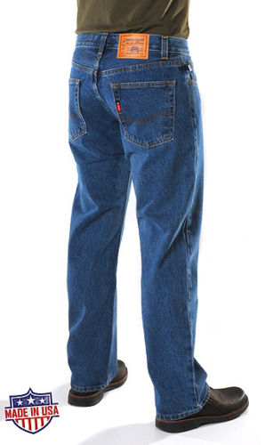 701™ Denim Express® REGULAR FIT BUTTON FLY jeans