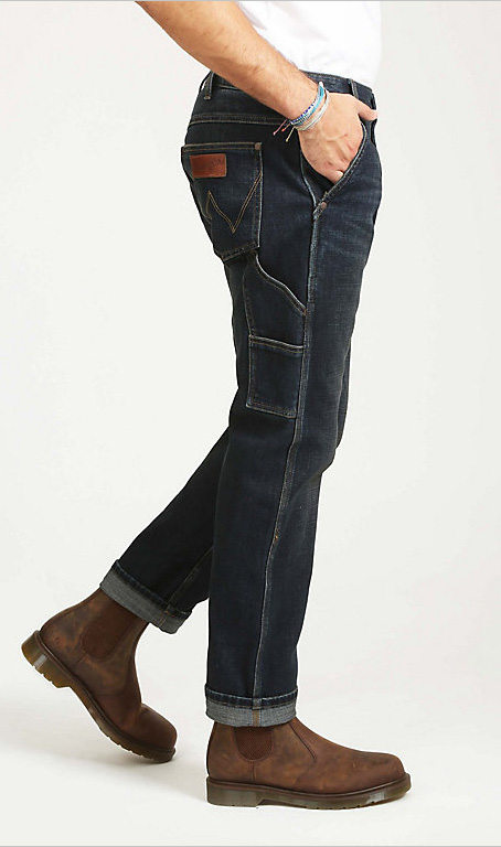 Wrangler® BUTTON FLY CARPENTER JEAN